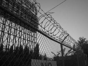 razor wire- maximum security